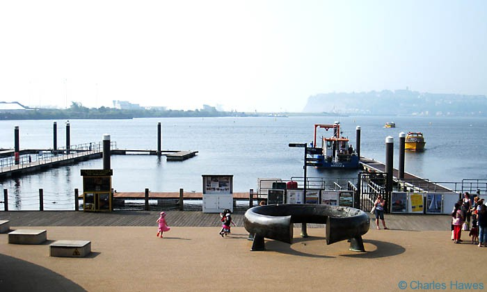 Cardiff Bay and the Wales Coast Path photographed by Charles Hawes. Walking in Wales.