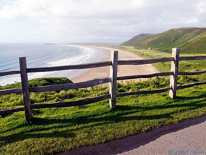 View of Rhossili Bay