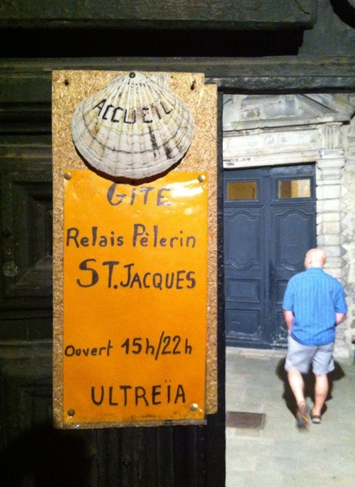 ite near the Cathedral in Le Puy. The way of St James, France. GR65. Route Saint Jacques. Photograph by Charles hawes