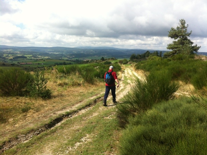 Walking The way of St James between St Privat D'Allier and Suages, photographed by Charles Hawes