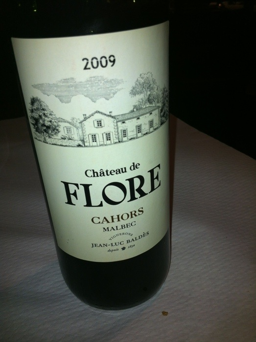Bottle of Chateau Flore