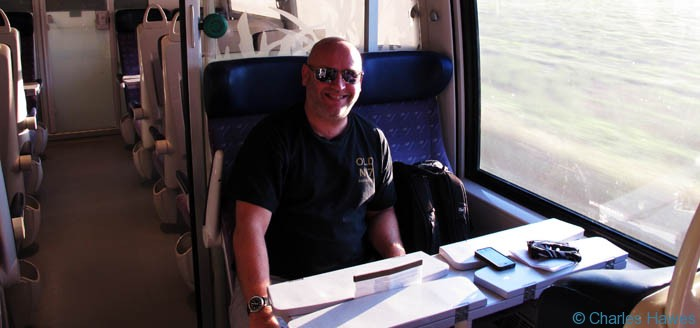 On the train and heading for Le Puy