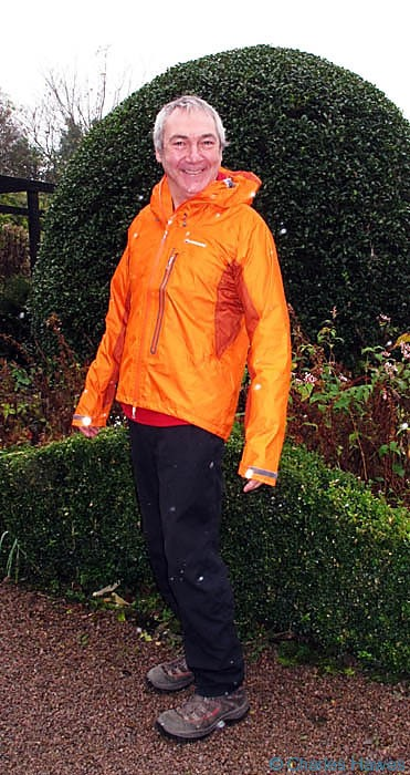 Montane Air jacket modelled by Charles Hawes