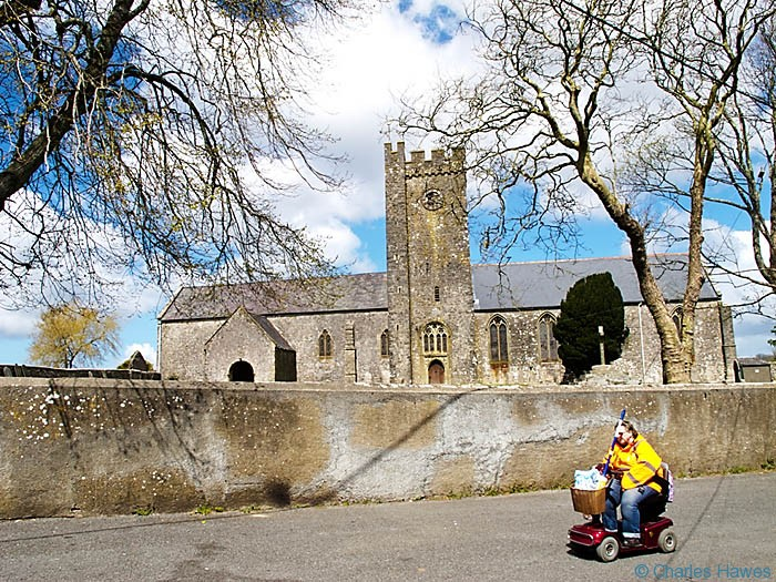 The Church of St Nicholas and St John, Monkton, Pembrokeshire, photographed by Charles Hawes