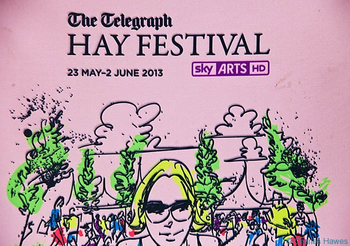 Poster of the 2013 Hay-on-Wye Festival