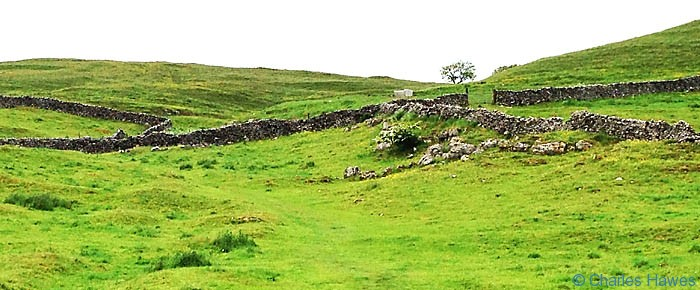 The Dales Way as it leaves Grassington photographed by Charles Hawes