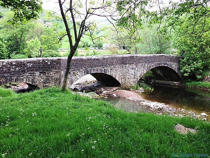 The bridge at Buckden on The Dales Way, North Yorkshire, photographed by Charles Hawes