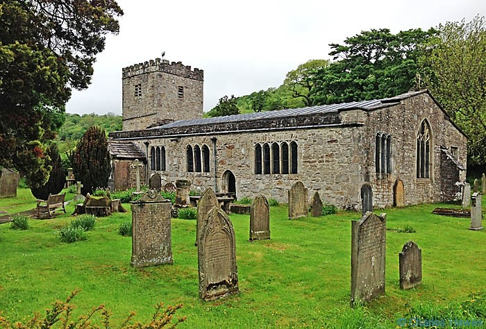 The Norman St Michael and All Angels Chruch at Hubberholme, on The Dales Way, photographed by Charles Hawes