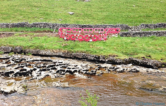 River Wharfe near Beckermonds on the Dales Way, photographed by Charles Hawes