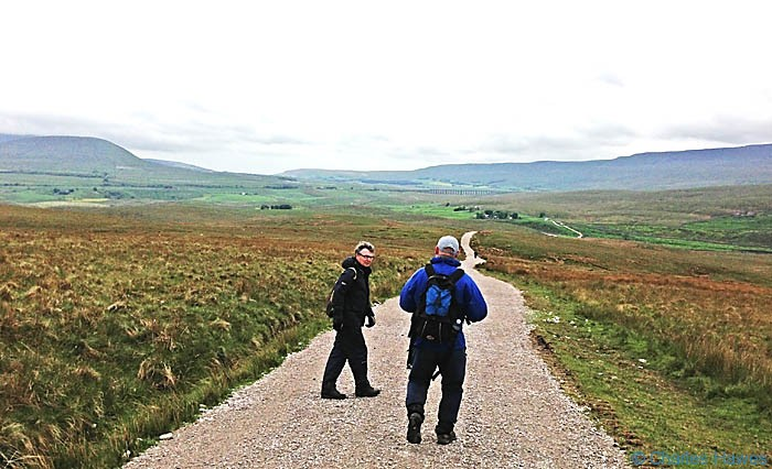 The Cam High Road section of The Dales Way, photographed by Charles Hawes