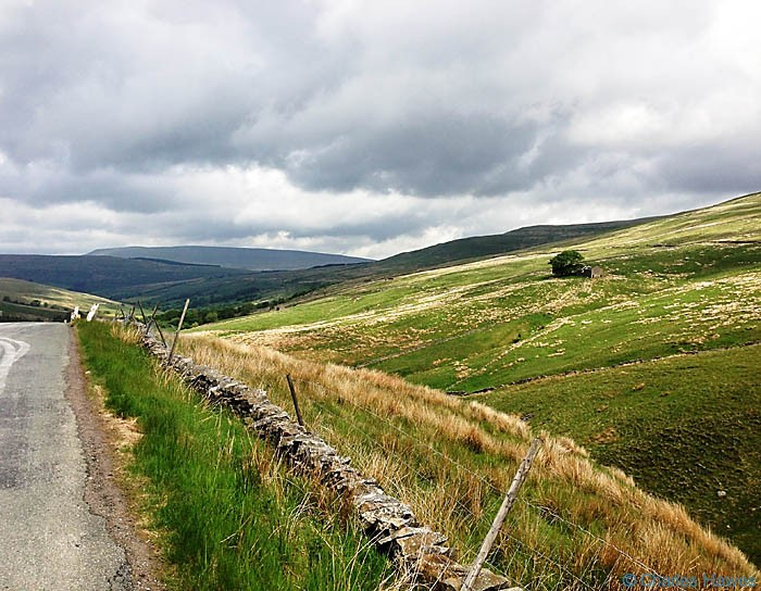 View  from the Dent Road on The Dales Way, North Yorkshire, photographed by Charles Hawes