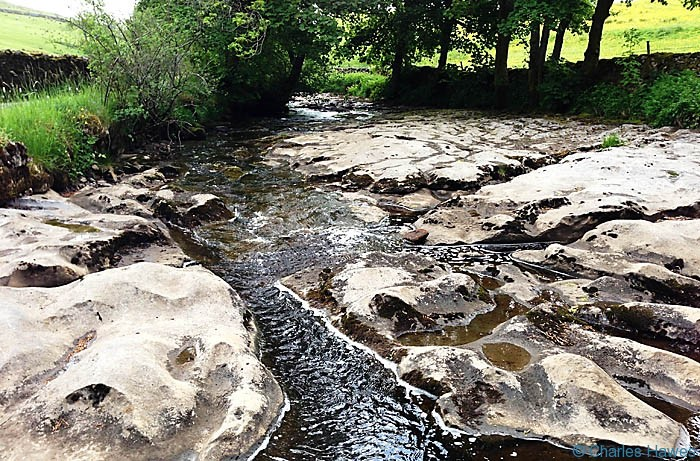 River Dee near Stone House on The Dales Way, photographed by Charles Hawes