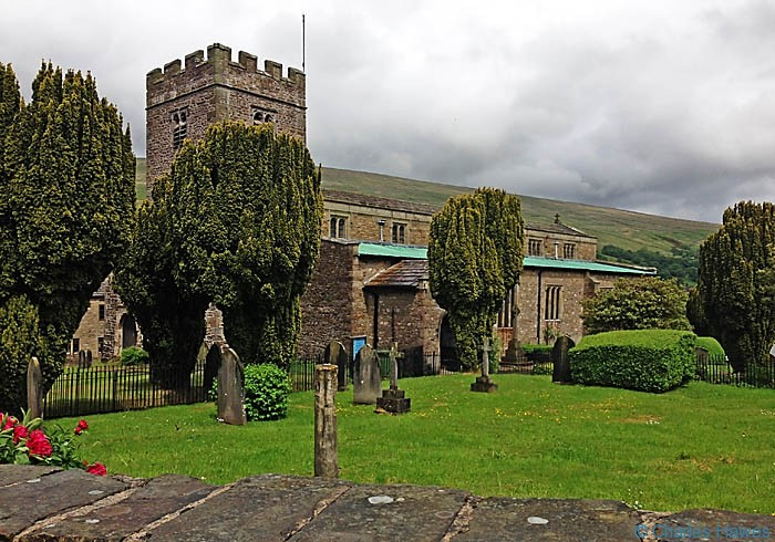 St Andrews church in Dent, photographed by Charles Hawes