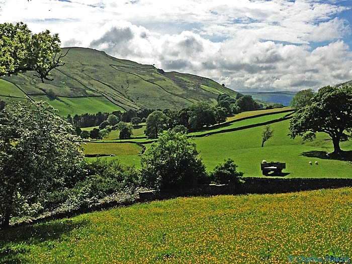View above Brackensgill from The Dales Way, photographed by Charles Hawes
