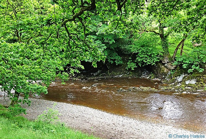 River Rawthey near Sedburgh on The dales Way, photographed by Charles Hawes