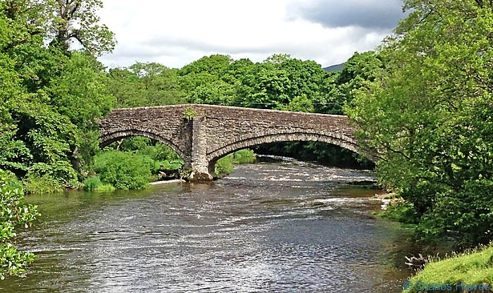 Lincoln's Inn Bridge over the river Lune on The Dales Way, photographed by Charles Hawes