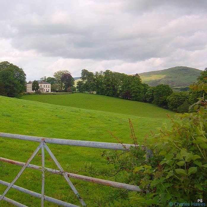 Moresdale Hall photographed from The dales way by Paul Steer