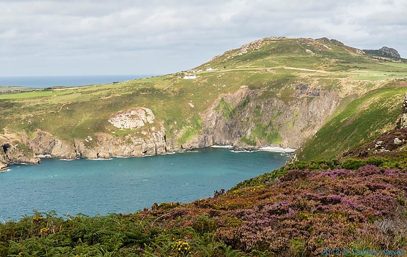View acxoss Pwll Deri photographed from The Wales Coast Path by Charles Hawes