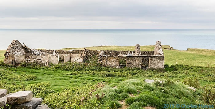 Ffos-las on The Wales Coast Path in Ceredigion photographed by Charles Hawes