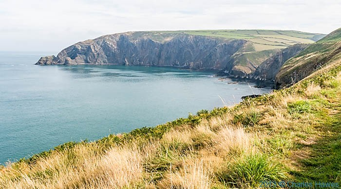 Pen-Yr-Afr, photographed from The Wales Coast Path in Pembrokeshire by Charles Hawes