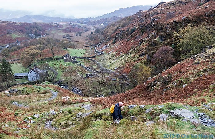 View over the Nantmor Mountain Centre, Snowdonia, photographed by Charles Hawes