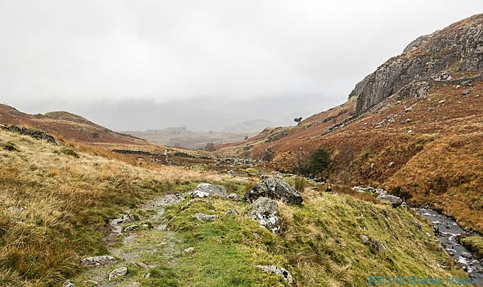 Path near Castell, Beddgelert, photographed by Charles Hawes