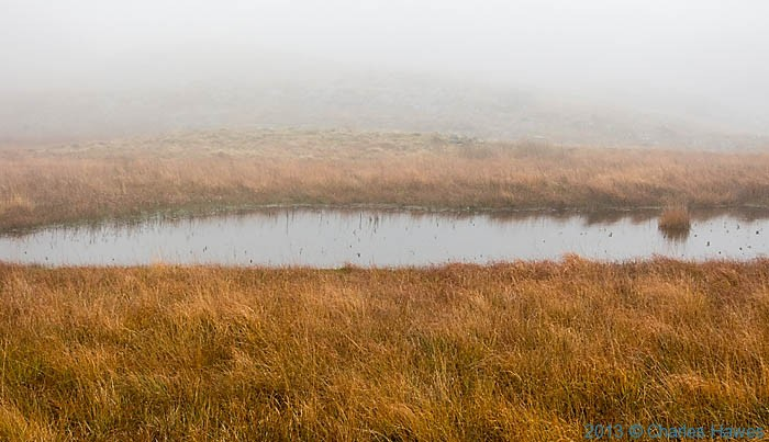 Lake above Nantmor Mountain Centre, Snowdonia, photographed by Charles Hawes