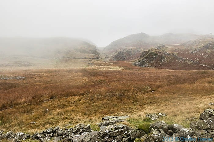 Moor above the Nantmor Mountain Centre, Snowdonia, photographed by Charles Hawes