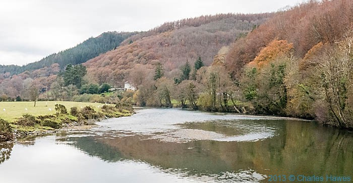 The River Dyfi, photographed from The Wales Coast path by Charles Hawes