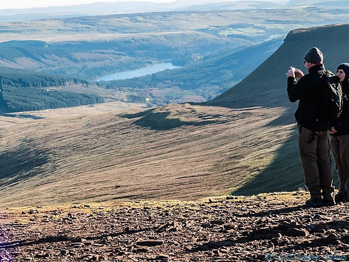view from Corn Du, Brecon Beacons National Park, photographed by Charles Hawes
