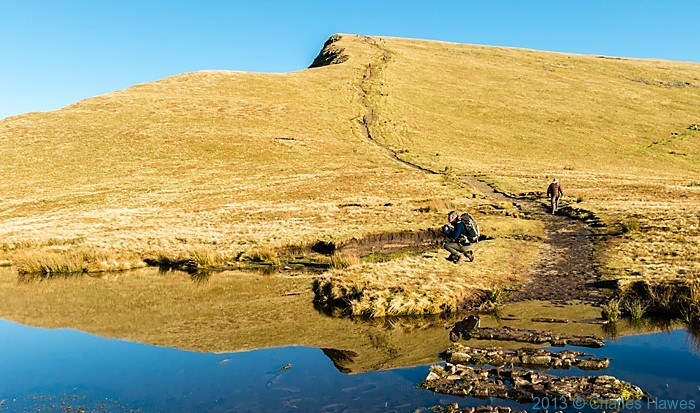 Cribyn,Brecon Beacons National Park, photographed by Charles Hawes