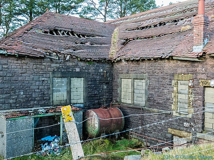 The Filter House at the Lower Neuadd reservoir, Brecon Beacons National Park, photographed by Charles Hawes