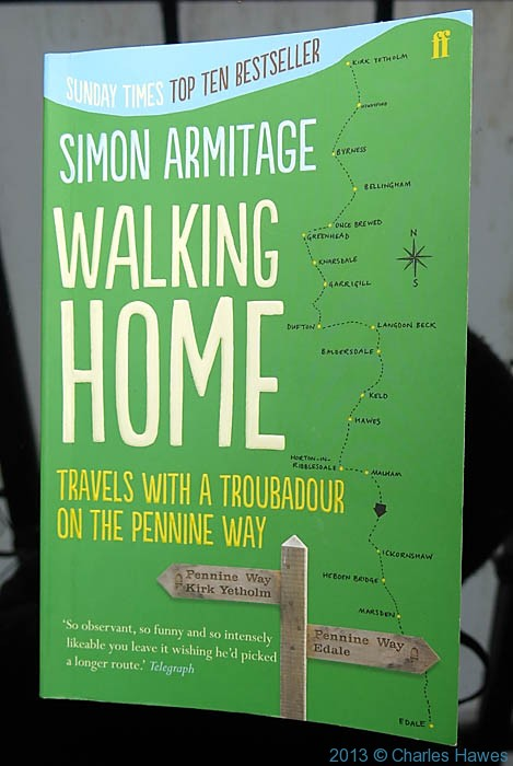 Front cover of Simon Armitage's book