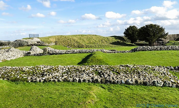 Old Sarum, near Salisbury, Wiltshire, photographed by Charles Hawes