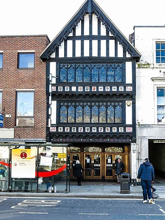 Odeon cinema in salisbury, photographed by Charles Hawes