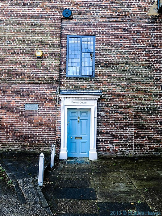 Friary Court, Salisbury, photographed by Charles Hawes