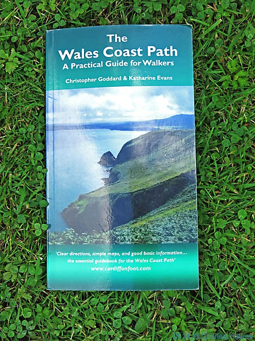 Cover of The Waled Coast Path- A Practical Guide for Walkers, reviewed here by Charles Hawes