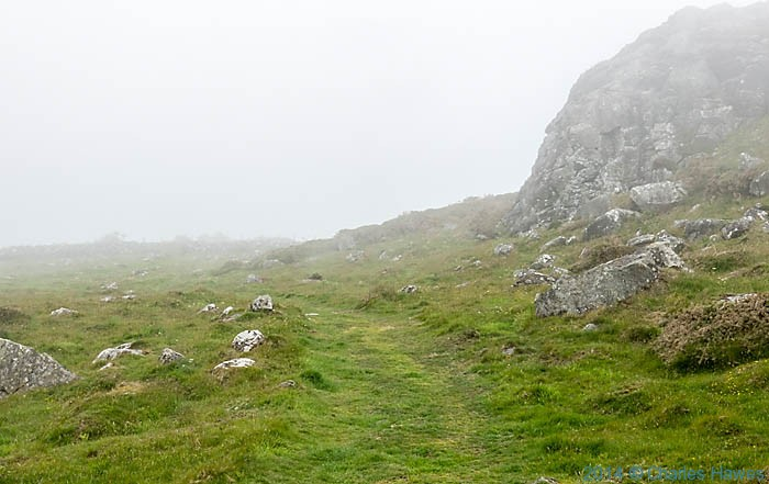 The Wales Coast path  crosses Mynydd y Griag, photographed by Charles Hawes