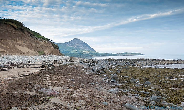 The beach near Gryn Goch on the Lleyn peninsula, photographed by Charles Hawes