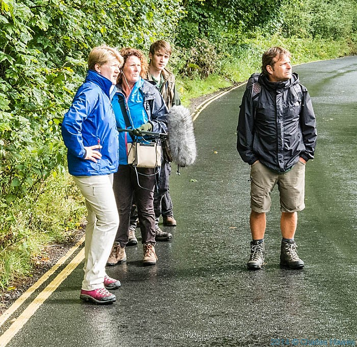 Charles Hawes Walks The Dales Way With Clare Balding For BBC Ramblings