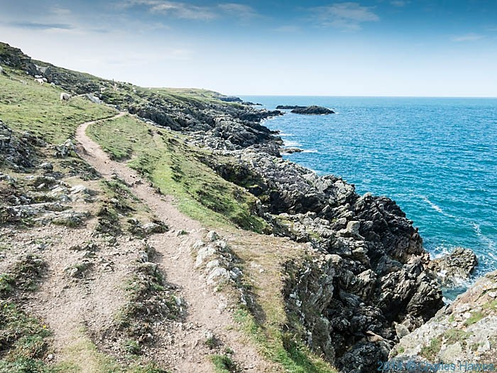 The Wales Coast Path between Rhosneigr and Aberffraw, photographed by Charles Hawes