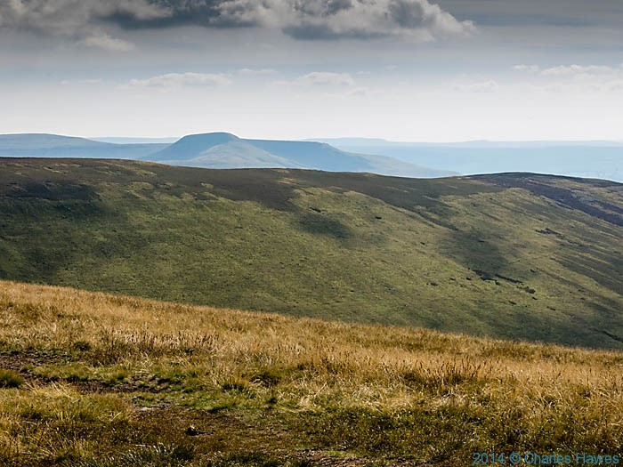 The Black Mountains and Brecon Beacons, photographed by Charles Hawes