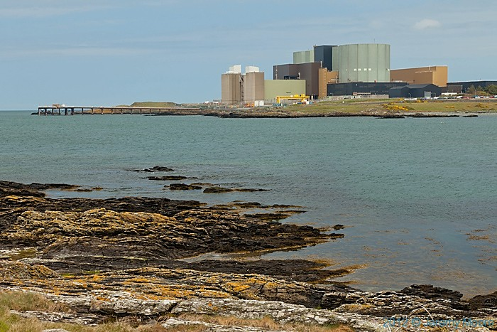 Nuclear power station at Wylfa, Anglesey, photographed by Jeremy Moore in Wales at the Water's Edge