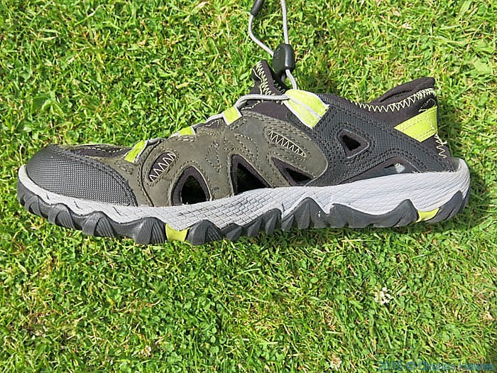 Merrell Allout Blaze Sieve walking shoe photographed by Charles Hawes