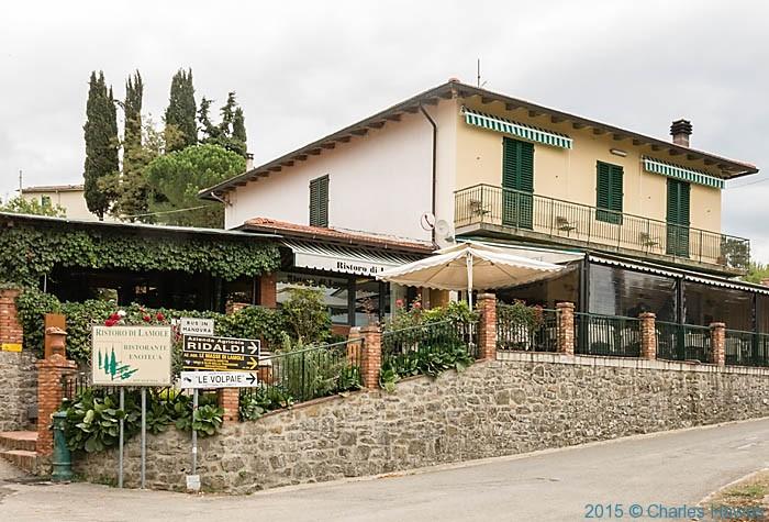 Ristoro di Limole, Chianti, photographed by Charles Hawes