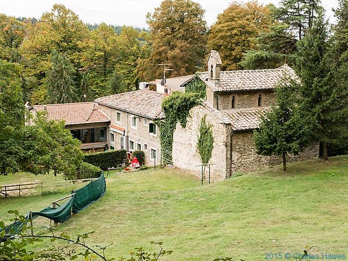 Villa San Michele Lamole ring walk, Chianti, Tuscany, photographed by Charles Hawes