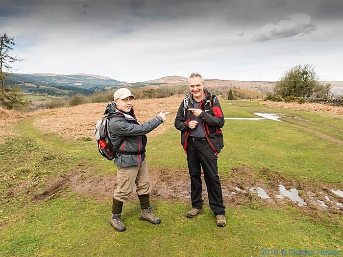 Cambrian way near Twyn y Gaer, photographed by Neil Smurthwaite