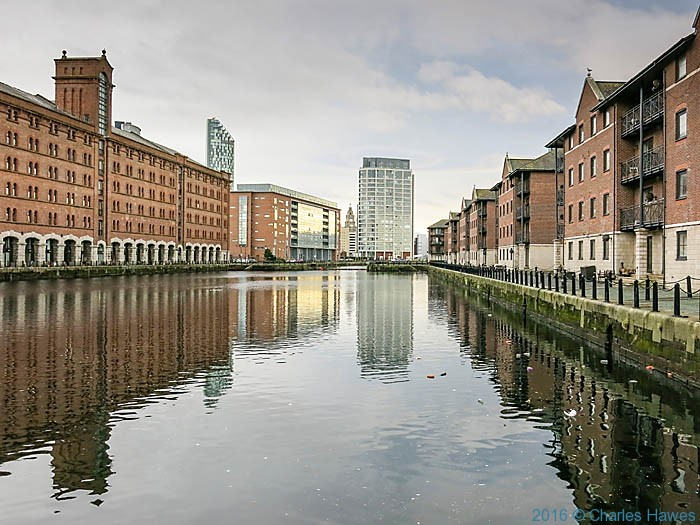 Waterloo Dock, Liverpool, photographed by Charles Hawes