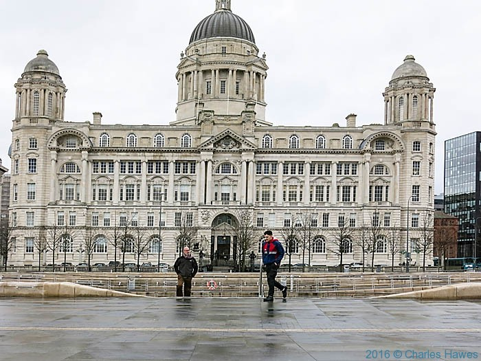 Port of Liverpool Building - one of the Three Graces, Liverpool, photographed by Charles Hawes