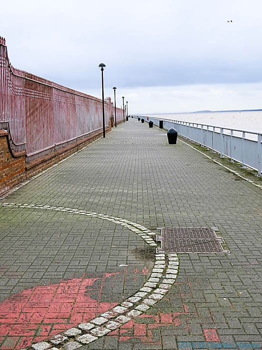 Liverpool waterfront, photographed by Charles Hawes